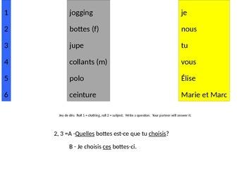Discovering French Bleu Unit 7 le verbe choisir