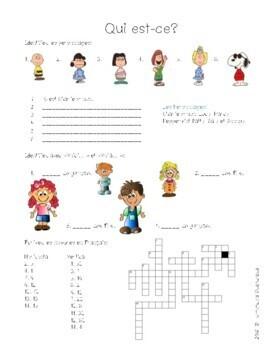 Discovering French Bleu Unité 1 Leçon 2 - ma famille, age, articles, people