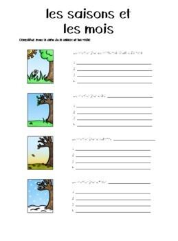 Discovering French Bleu Unité 2 Leçon 4 - Extra worksheets/ Practice