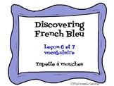 Discovering French Bleu Unité 3 Leçon 6/7 - Flyswatter/ Hear and Circle - vocab