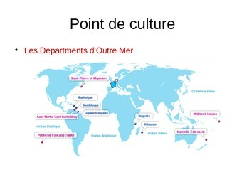 Discovering French Bleu powerpoint