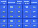 Discovering French, Nouveau! (Bleu 1) Unit 1 - Jeopardy-st