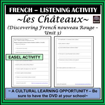 Discovering French Nouveau – Rouge (Châteaux de la Loire) Listening Activity