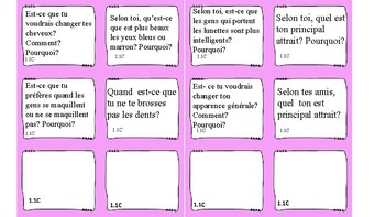 Discovering French Nouveau Rouge Unit 1 Speaking/ Writing prompt