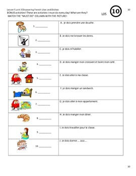 Discovering French bleu lesson 5 likes/dislikes aimer+infinitive