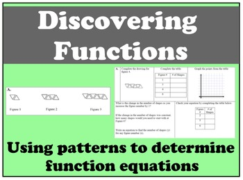 Discovering Functions