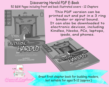 Discovering Harold Printable Bundles Activities