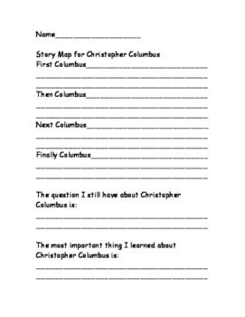 Christopher Columbus No Prep Literacy Unit