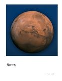 Discovering Mars: The Amazing Story of the Red Planet Novel Study
