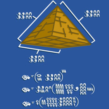 Discovering Math: The Volume of  a Pyramid