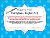 "3rd Grade Social Studies GSE ""Discovering Famous European"