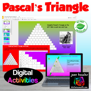 Discovering Pascal's Triangle with GOOGLE slides