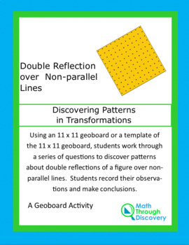 Patterns in Transformations - Double Reflection over Non-Parallels