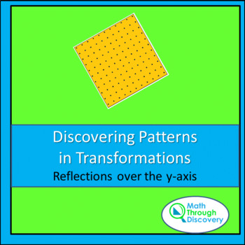 Geometry:  Discovering Patterns in Transformations - Reflections over the y-axis