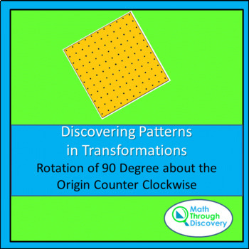Discovering Patterns in Transformations - Rotation Counter