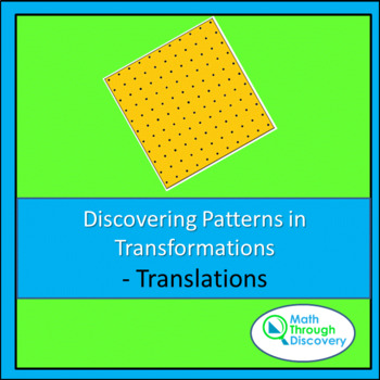 Discovering Patterns in Transformations - Translations