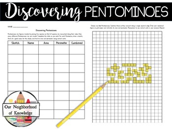 photo regarding Pentominoes Printable named Printable Pentominoes Worksheets Instructors Fork out Instructors