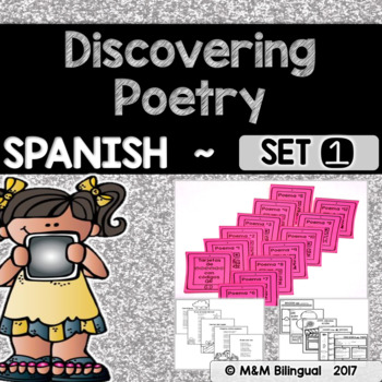 Discovering Poetry - Set 1 {SPANISH}