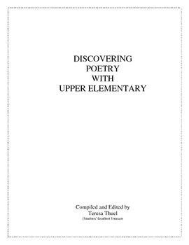 Discovering Poetry With Upper Elementary