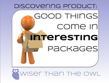 Discovering Product: Good Things Come in Interesting Packages