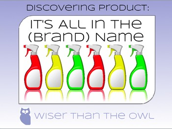 Discovering Product: It's All in the (Brand) Name