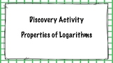 Discovering Properties of Logarithms