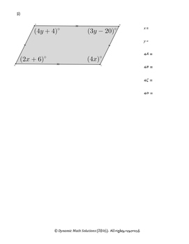 Discovering Properties of Parallelograms (Part 4 of 4)