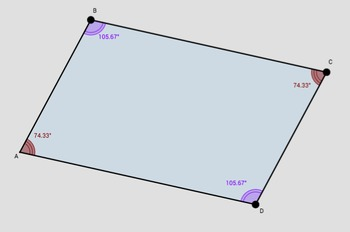 Discovering Properties of Parallelograms (Parts 1, 2, 3, 4)