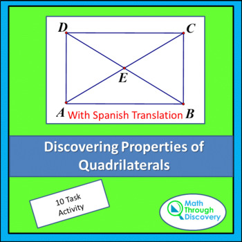 Geometry:  Discovering Properties of Quadrilaterals