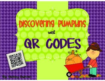 Discovering Pumpkins with QR Codes {Pumpkin Facts}