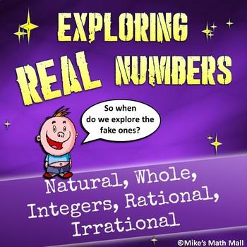 Real Numbers - (Bundled Unit)