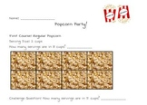 Discovering Reciprocals: Popcorn Activity