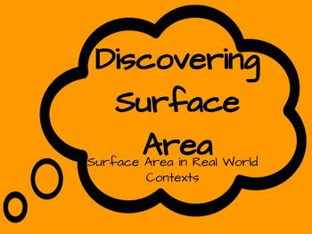 Discovering Surface Area