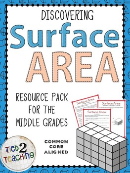 Discovering Surface Area Resource Pack