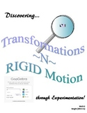 Discovering Transformations in RIGID Motion with Geogebra (Instructor Bundle)