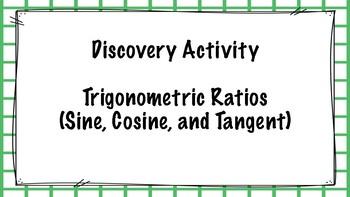 Discovering Trigonometric Ratios (Sine, Cosine, Tangent)