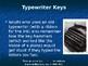 PreKeys - Typewriter History