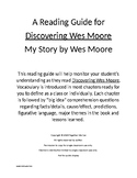 Discovering Wes Moore - Complete Reading Guide with Vocabulary