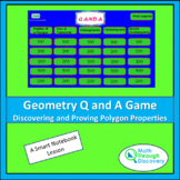 Geometry - Smartboard Q and A Game - Discovering and Provi