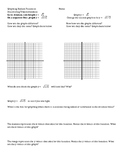 Discovering patterns of square root and cube root graphs