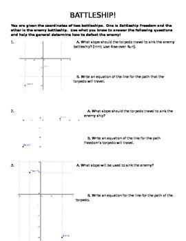 Discovering slope, zero slope, and undefined slope