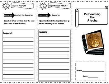 Discovering the Atocha Storytown Comprehension Trifold