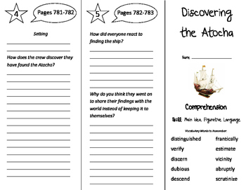 Discovering the Atocha Trifold - Storytown 4th Grade Unit
