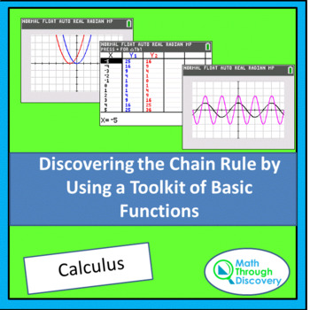 Discovering the Chain Rule by Using a Toolkit of Basic Functions