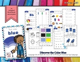 Discovering the Color Blue - Workbook