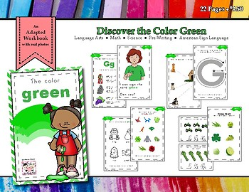 Discovering the Color Green - Workbook