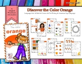 Discovering the Color Orange - Workbook