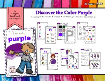 Discovering the Color Purple - Workbook