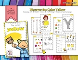 Discovering the Color Yellow - Workbook