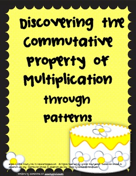 Discovering the Commutative Property of Multiplication Lesson Plans & Activities